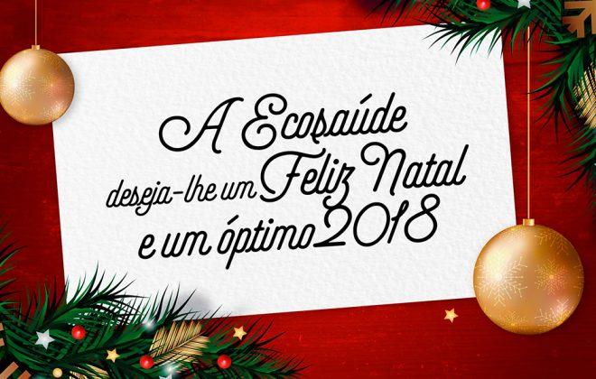 boas festas eum óptimo 2018 ecosaúde